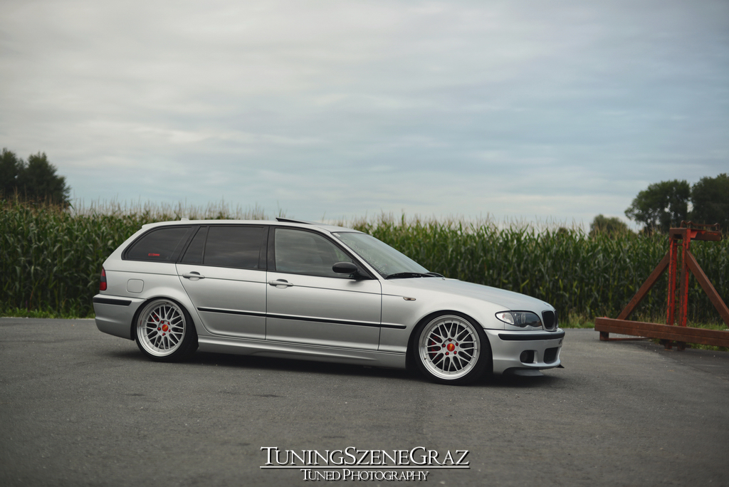 Bmw E46 Touring Perfect Stance Tuning Szene Graz